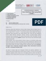 001 KC Kepatuhan Pelaksanaan Cara Distribusi Obat yang Baik