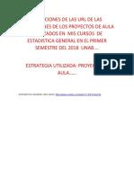 DIRECCION DE LAS URL DE LA ESTRATEGIA UTILIZADA EN ESTADISITCA GENERAL.docx
