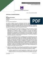 Partido Morado retiró al congresista Gino Costa de la Comisión de selección de magistrados del TC