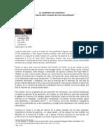 EL GOBIERNO DE FRANCÍSCO (Spadaro)