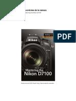 Guía - Referencia rápida para la Nikon D7100 - D7200