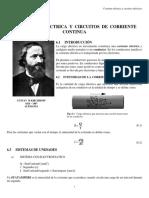 CORRIENTE ELÉCTRICA Y CIRCUITOS ELÉCTRICOS