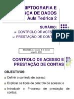 Aula2 - Responsabilidade e Controlo de Acesso2017S1