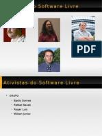 Ativistas Software Livre