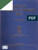 INDIAN PHARMACOPOEIA 2010 Volume 2.pdf