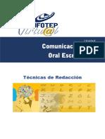 Comunicación Oral y Escrita Unidad 1 EJEMPLO