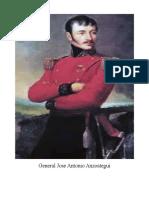 General Jose Antonio Anzoategui