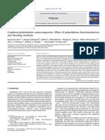Effect of polyethylene functionalization