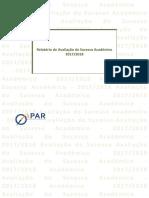 Relatório Da Avaliação Do SA - 3.ºPeriodo (2017-18)