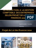 INTRODUCTION  A  LA GESTION COMPTABLE  DES ENTREPRISES SELON PLF 2020.