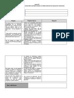Ficha para el recojo de información sobre las interacciones y la elaboración de las normas de convivencia