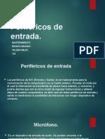 Periféricos de entrada- mantenimiento