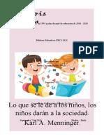 Ensayo critico ley 115 de 1994 y plan decenal de educación de 2016.docx