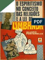 Aluizio Fontenelle O Espiritismo No Conceito Das Religiões e a Lei de Umbanda