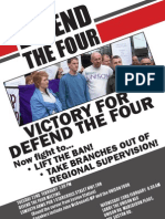 Defend the Four bulletin