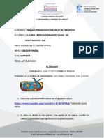 ACTIVIDADES DEL 26 AL 30 DE OCTUBRE GADO PRIMERO MISTERIO.