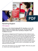speaking course page 1