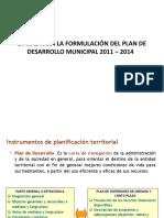 4  ETAPAS PARA LA FORMULACIÓN DEL PLAN DE DESARROLLO
