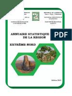 Annuaire statistiq Région E-N Cmr 2018