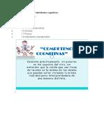 Tipos y ejemplos de habilidades cognitivas