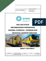 Draft  General Overhaul  (GO) Tender Contract