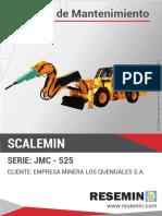 MANUAL DE MANTENIMIENTO SCALEMIN JMC-525