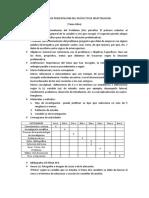 ESQUEMA  DEL PROYECTO DE INVESTIGACION