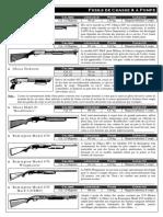 Fusils de Chasse & à Pompe