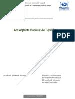Les aspects fiscaux de liquidation