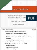Gestion de portefeuille-MEDAF