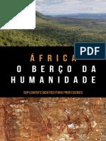 África - O Berço da Humanidade - Noemi A. Peixoto