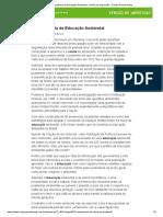 A Importância da Educação Ambiental - Versão de impressão - Campo Grande News