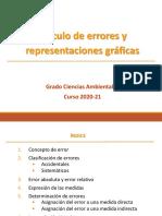 CALCULO DE ERRORES I