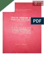 Estatutos Asociación Nacional Republicana año 1966