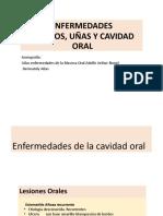 X Clase Orales, Uñas y Pelos