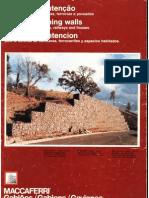 Gaviones, defensa de ferrocarriles, carreteras y espacios habitados