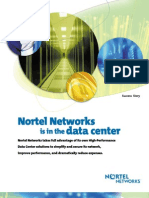 Nortel Networks is in the data center