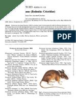 Trujano-Alvarez y Alvarez-Castañeda - 2010 - Peromyscus mexicanus (Rodentia Cricetidae)