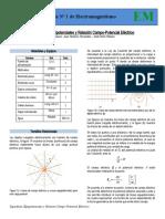 Guía 1 Superficies Equipotenciales y Relación Campo-Potencial Electrico.docx