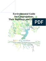 Environmental Guide for Congregations, Their Buildings and Grounds; by David Glover