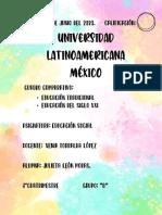 CUADRO COMPARATIVO EDUCACION