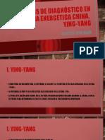YING YANG Elementos de DIAGNÓSTICO en Medicina Energética China