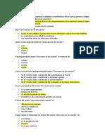 2°secundaria examen bimestral literatura