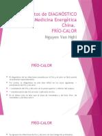 FRIO-CALOR Elementos de DIAGNÓSTICO en Medicina Energética China