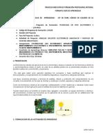 GUÍA  LEY DE OHM - CODIGO DE COLORES - POTENCIOMETRO - JUAN PABLO NOVOA