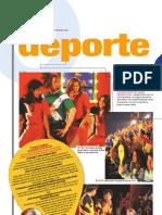 Deporte teatral (Suplemento Q), PuntoEdu. 04/12/2006