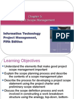 Chapter05 Project Scope Management