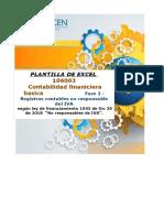 Plantilla Excel - Fase 2 - Registros contables no responsable del IVA-CARLOS MOSQUERA