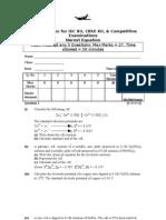 Electrochemistry Standard Tablet 1