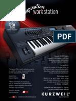 Keyboard Magazine 2010-06 Kurzweil PC3x (Ad pg 45)